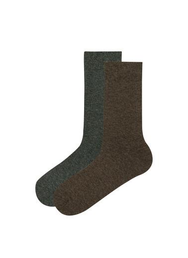 Penti 2'li Çorap Kahve